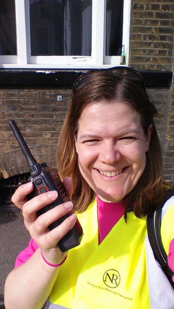 The lovely Becca's #marshalselfie (I forgot to take one!)