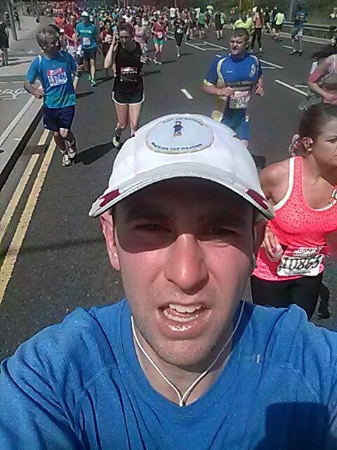 Alex's amazing first ever #runselfie