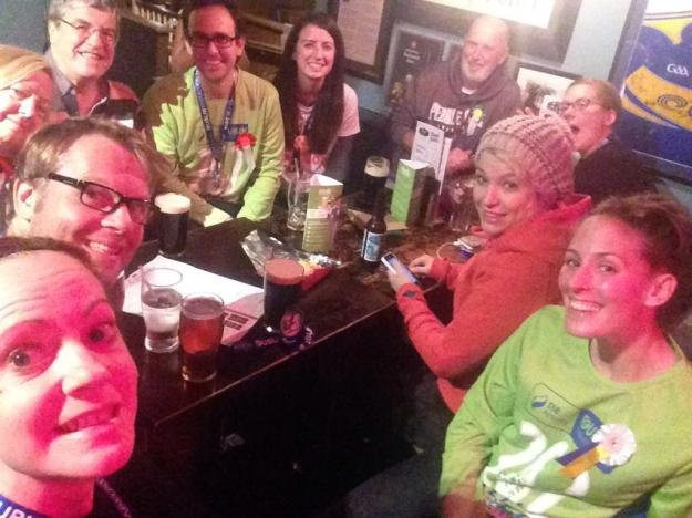 Lazygirlrunning's Team Rainbow selfie
