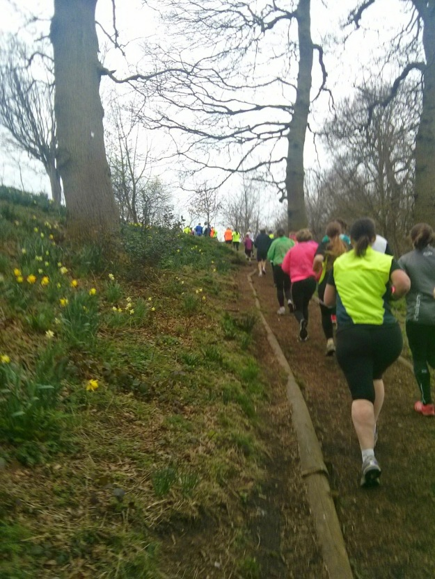 Part of the Newark parkrun