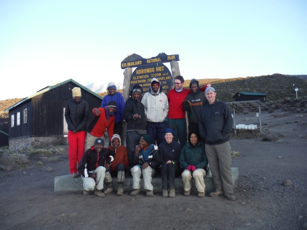 Our amazing team of cooks, porters, and guides.