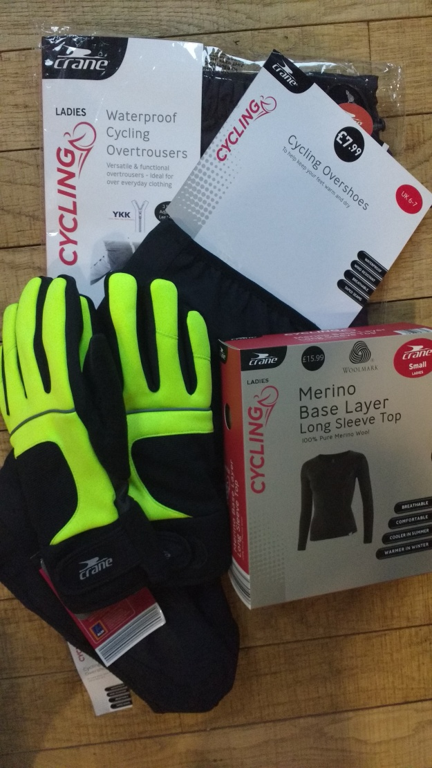 Winter cycling essentials. Wish they came in a few more colours though