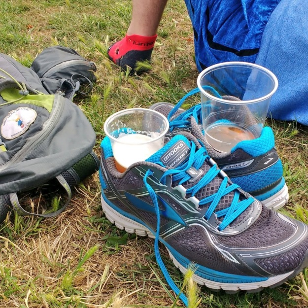 Brooks make good running shoes and cup holders.